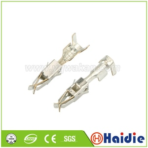 Free shipping 50pcs crimp termianls auto VW tyco terminals car splices wire female terminal, replacement of 964286-2
