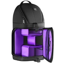 Neewer professionnel Sling caméra sac de rangement Durable étanche et résistant à la déchirure noir sac à dos de transport étui pour appareil photo reflex numérique