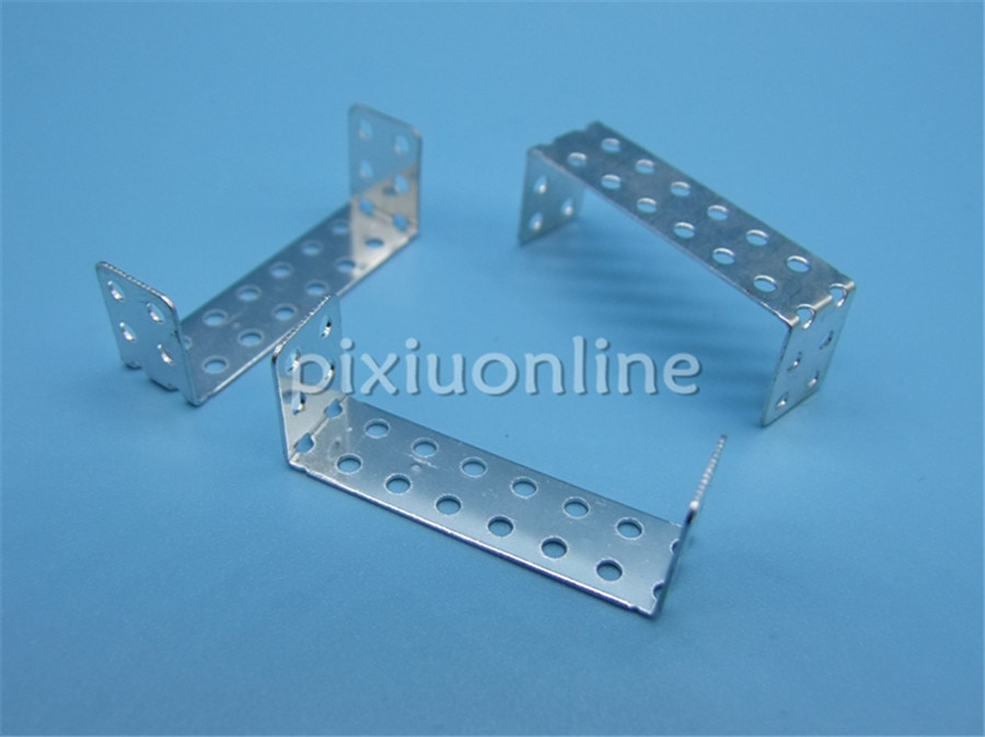 10 unids/pack K996 doble ángulo recto en forma de U 35mm de longitud soporte de esquina de hierro DIY conectar envío gratis Rusia