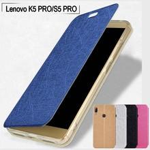 Lenovo K5 pro case L38041 K5 pro phone case Slim PU leather soft TPU stand flip cover for Lenovo S5 pro case L58041 phone cover