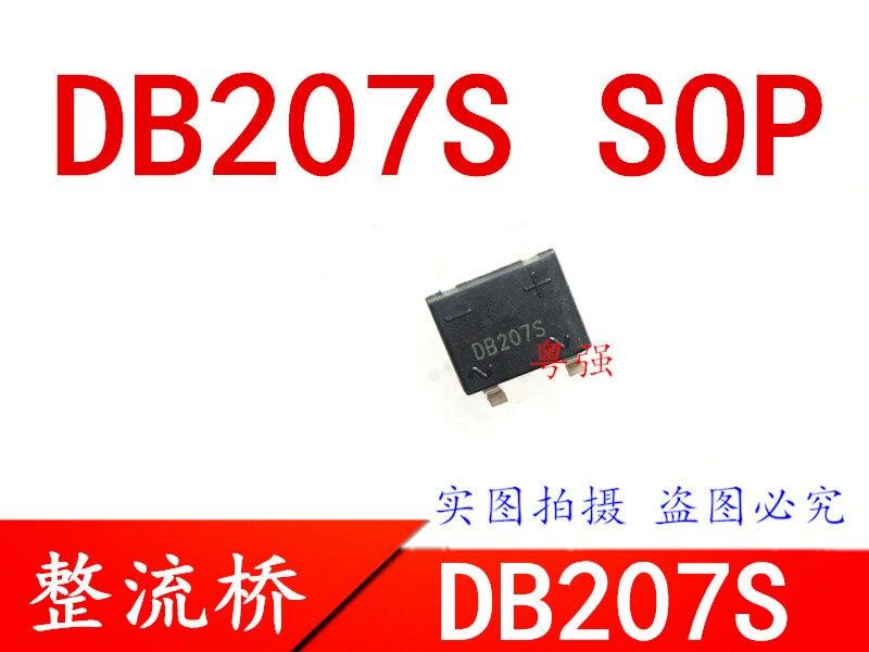 20 unids/lote DB207S DB207 207 SOP-4 en Stock