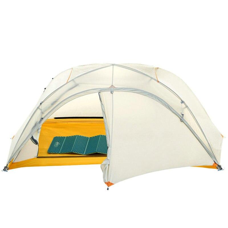 Tienda Winsa Pro con revestimiento de silicona 15D, 2 personas, 4 estaciones, exterior, ultraliviana, impermeable, tienda de acampar en invierno
