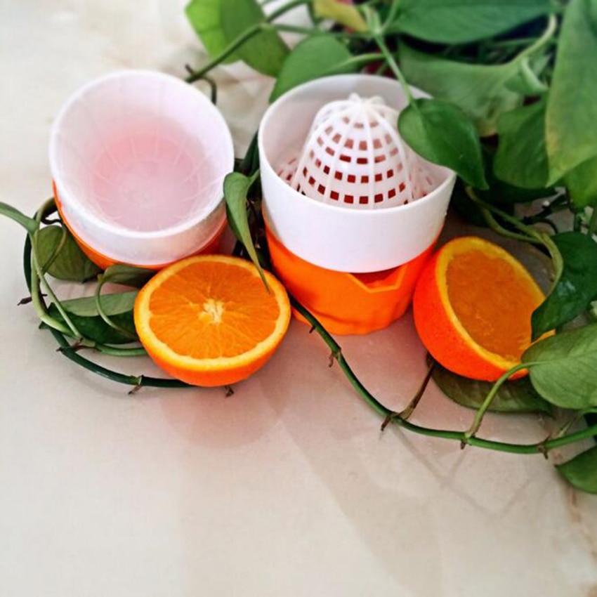 Купить с кэшбэком Portable Manual Juicer Cup For Citrus Orange Lemon Fruit Squeezer 100% Original Juice Child Healthy Drink Machine