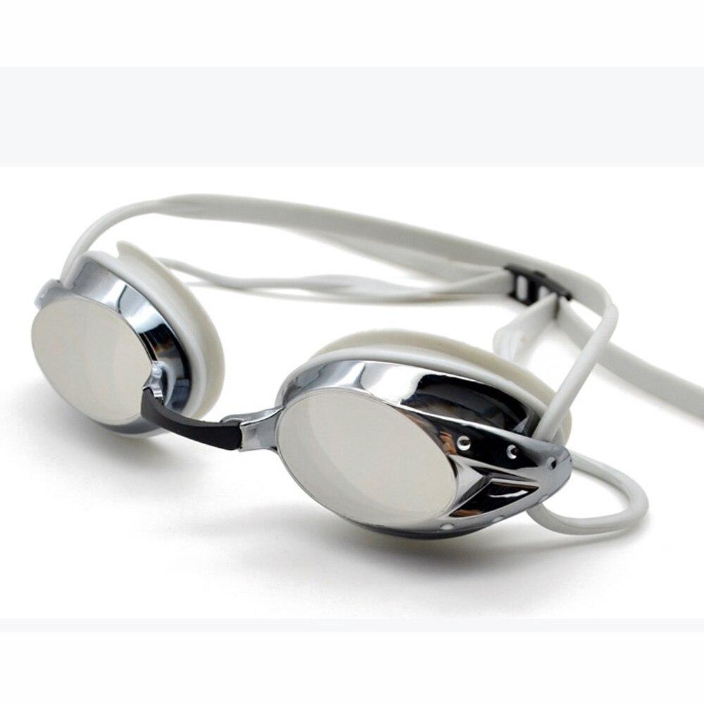 DEEPGEAR Beschichtete Polycarbonat Racing-schutzbrille silikondichtung schwimmen brillen für unisex Männer frauen schwimmen gläser Jugend rennen brille