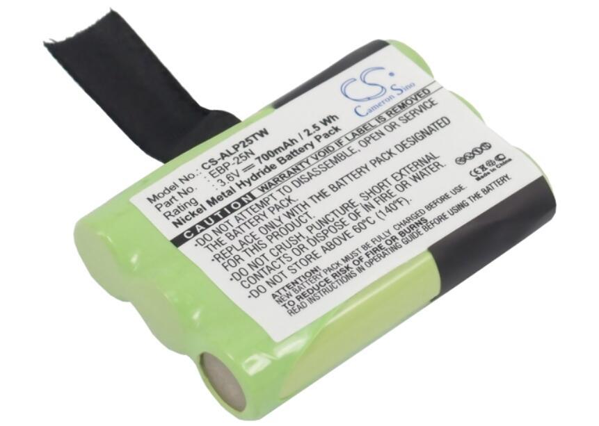 Batería de 700mah para ALINCO DJ-S41 DJ-SR1 PMR446 EBP-25N batería de Radio...