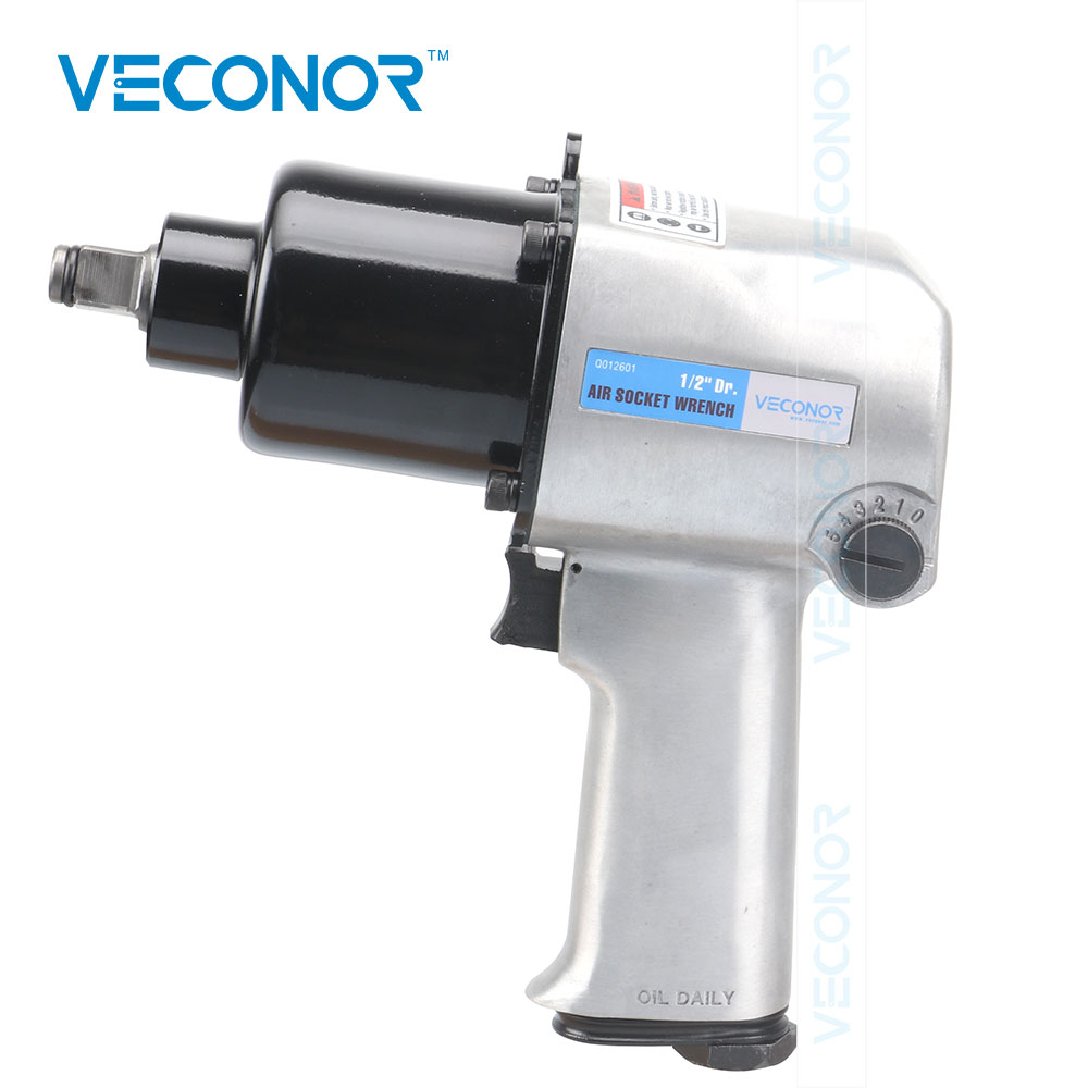 "1/2"" Square Drive Head Pneumatic Tools Pneumatic Wrench Spanner Air Gun Pneumatic Piston Hammer Impact Gun For Car Repair"