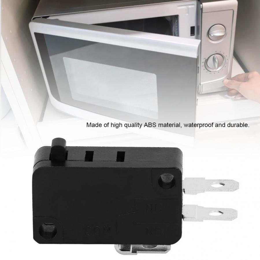 2 piezas 5E4 veces duradero KW3AT-16 microondas puerta Micro interruptor normalmente cerrar 125V 16A