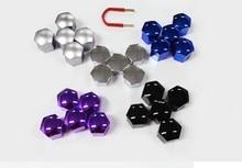 SKTOO (20pcs)17MM For Volkswagen/Audi/Mercedes-Benz/BMW/Fiat/Peugeot/QQ Wheel Rim Cover Tyre Screw Cap,color Paint
