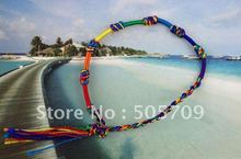 12PCS Rainbow Macrame Friendship bracelets / Angklets #20877