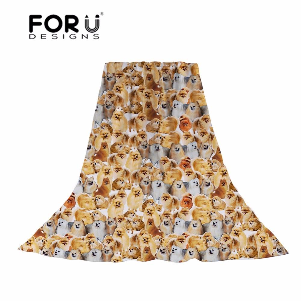 FORUDESIGNS Scarves Women 3D Corgi Printing Slik Scarf Ladies Funny Hijab for Females Puppy Pattern Shawl Sun Protection