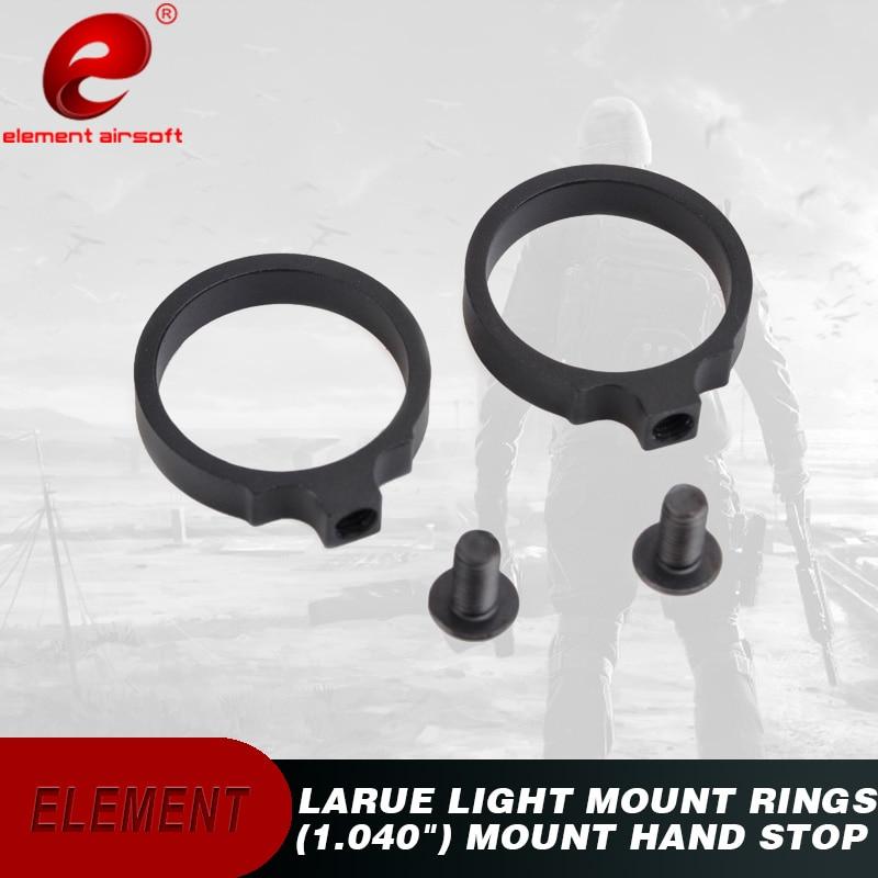 "Element Airsoft LaRue anillos de montaje ligero Rifle Scope montajes (1.040 "") EX310"