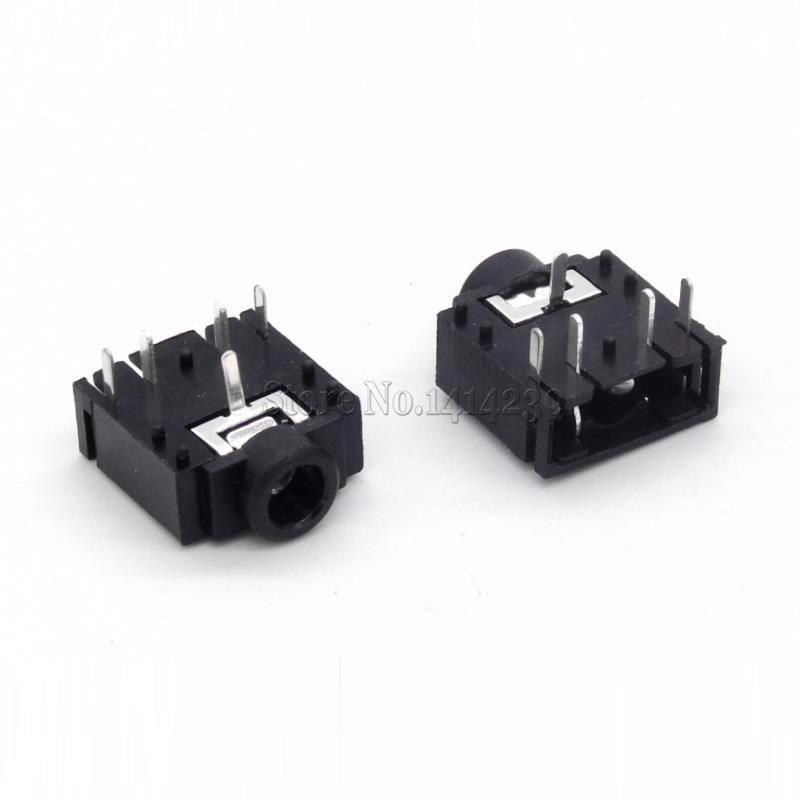 10Pcs 3.5MM headphone Socket PJ-307 3F07 Audio Socket PJ307 5PIN Black