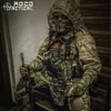 ROCOTACTICAL צבאי צלף Ghillie צפע הוד חליפת Ghillie Combat קרן Custom Ghillie הוד מעיל הסוואה וודלנד