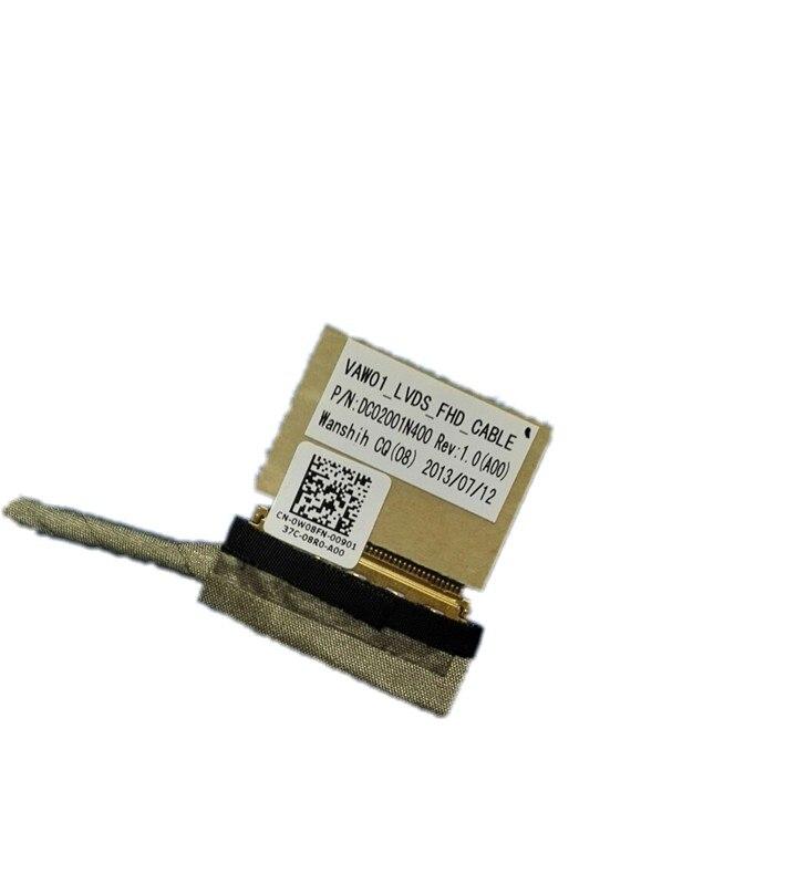 O ENVIO GRATUITO de NEW LCD LVDS CABLE PARA DELL INSPIRON 15R 3521 3537 5521 V2521D 5535 5537 DR1KW VAW00 DC02001MG00 DC02001N400 1KW