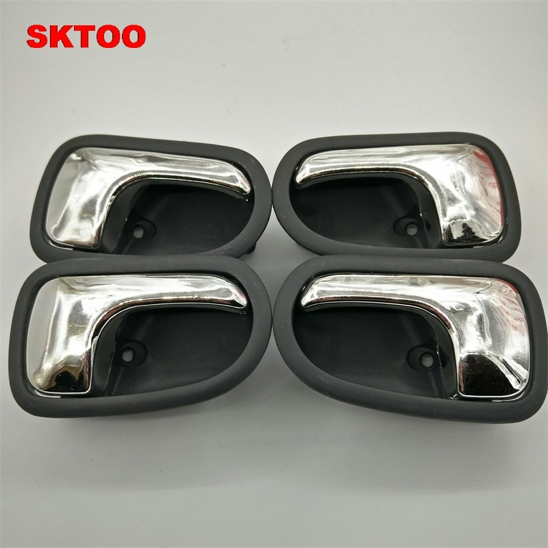 SKTOO auto parts  for Mazda 323 / Haima II / Familia / haifuxing door handles black inside handles a set free shipping