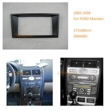 2 din Radio Fascia für FORD Mondeo 2001-2006 Mk3 Transit Fiesta DVD Stereo CD Panel Dash Mount 11 -060