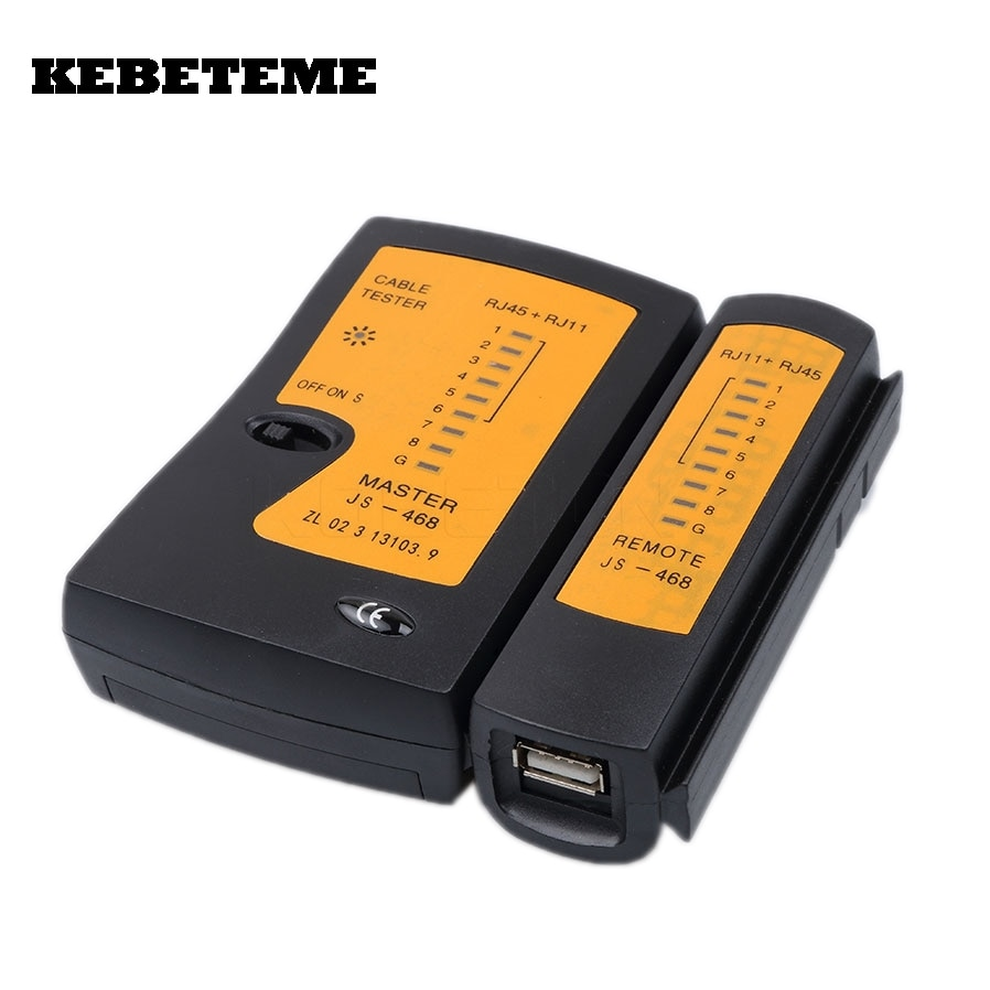 KEBETEME Professional RJ45 USB Network Cable Wire Tester Ethernet LAN Detector Tracker Networking Tool
