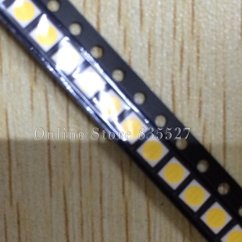 200pcs/lot 3030 120-130lm 3V white SMD LED lamp beads light emitting diode dual chip SL-WBEB30-FL