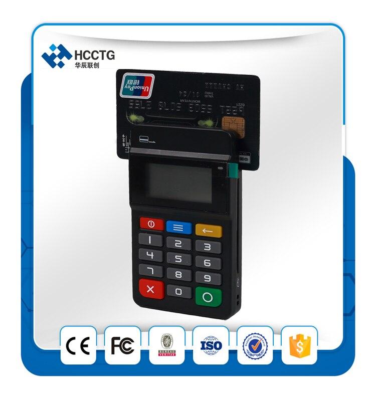 Terminal de punto de venta inalámbrico HTY711 con lector de tarjetas inteligentes NFC