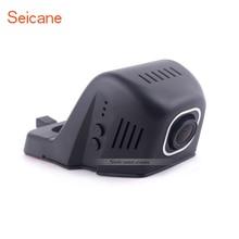 Seicane-enregistreur vidéo de conduite DVR   Voiture, caché HD, avec WIFI, contrôle du stationnement, caméra arrière 1080P