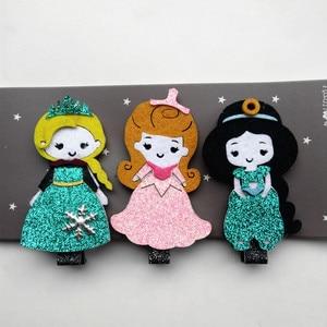 Good Quality Hairpin 3PCS/LOT Modish Girls Little Stock Kid Hair Clip Bowknot Bubble Bows Hair Korean Hairpin Crown Bow Headwear