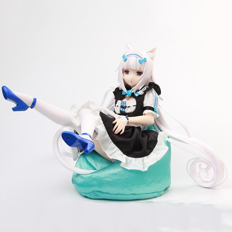 1/4 Anime BINGing NEKOPARA Vol.1 Soleil abierto vainilla pintado PVC acción figura juguete de modelos coleccionables regalo para niñas con caja