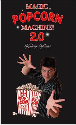 Palomitas de maíz de edición electrónica 2,0 (accesorios y DVD), trucos de magia, magia de escenario, magia de fiesta, diversión, accesorios, mentalismo, comedia, truco