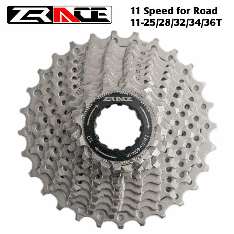 Nova zrace 11 s estrada bicicleta roda livre cassete 11 velocidade mtb bicicleta cassete 11-25 t/28 t/32 t/34 t/36 t, compatível com ultegra 105