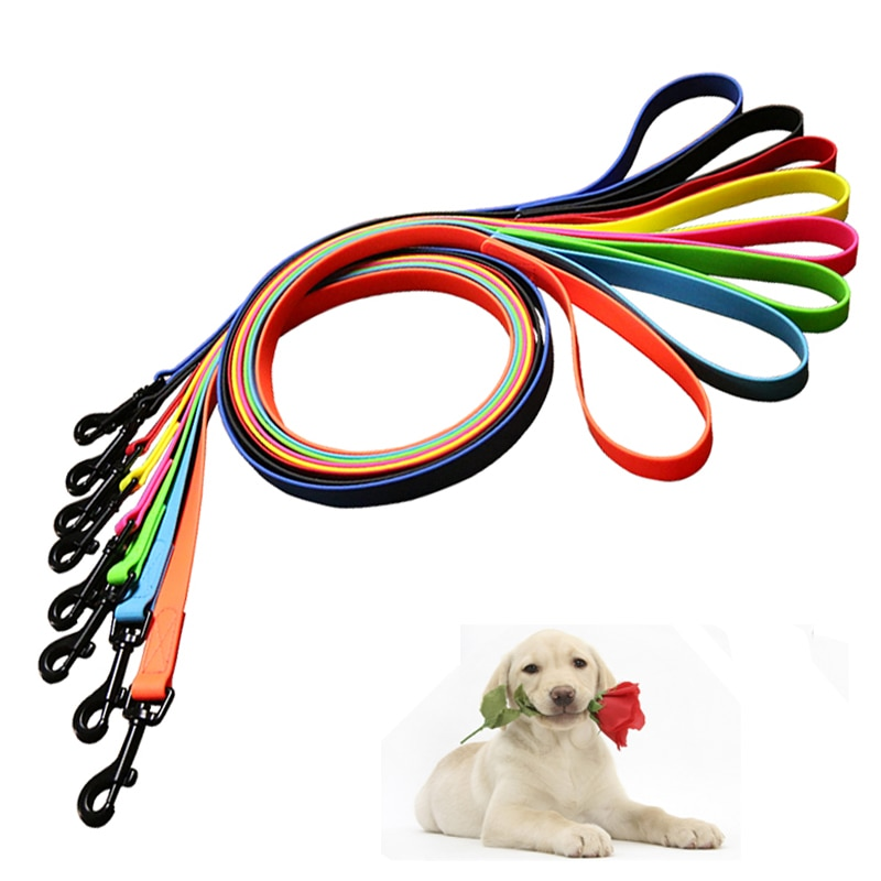 Pet shop Dog leash PVC Waterproof dog lead rope Cat leash anti dirty easy to clean for Big small dogs puppy pet products