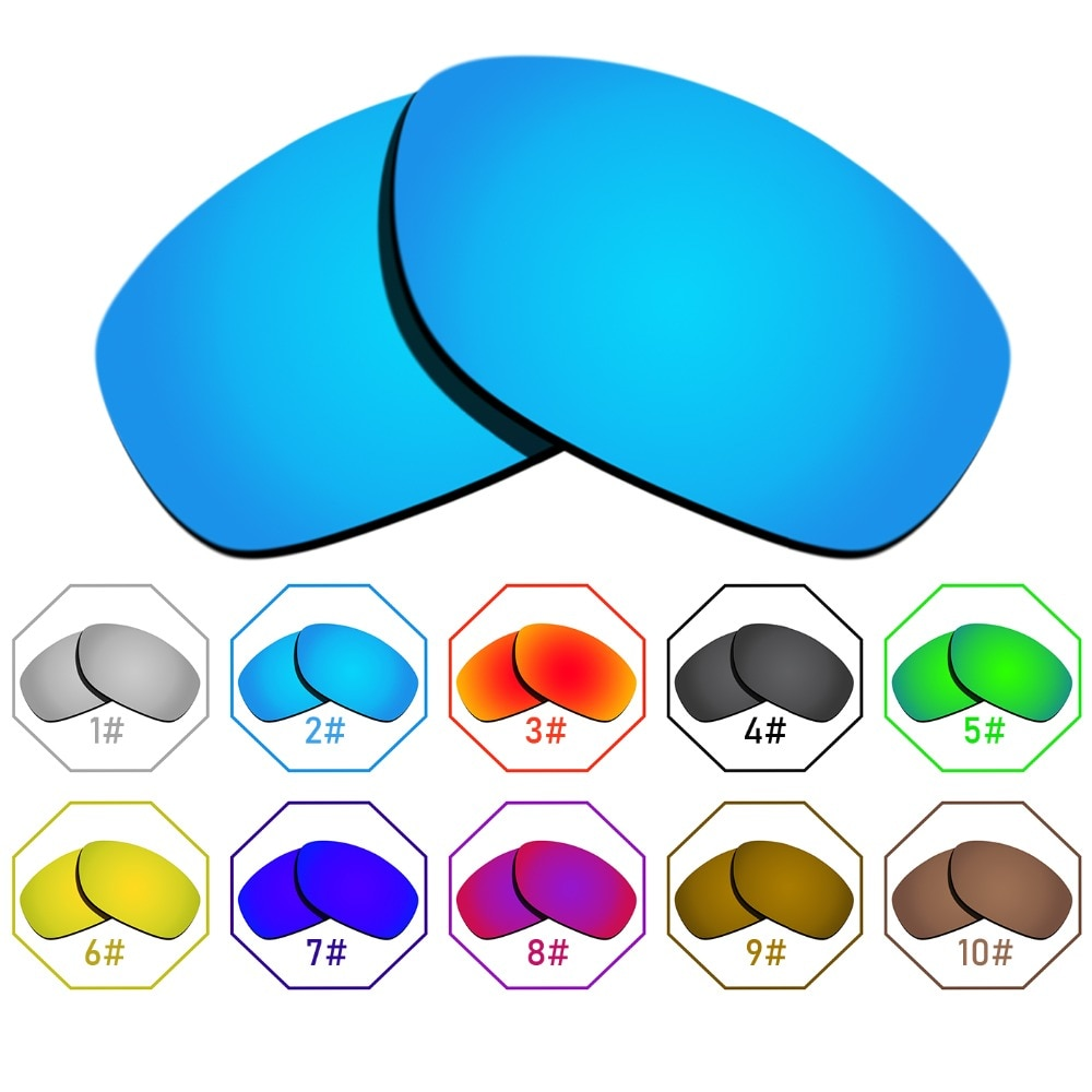 Polarized Replacement Lenses for Pit Bull Frame - Many Colors Anti-reflective Anti-water Anti-scratc