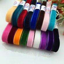 "10 yard/lot 3/8 ""Sparkle nylon single faced velvet ribbon velour webbing headband Hair band accessories white lace fabric10MM"