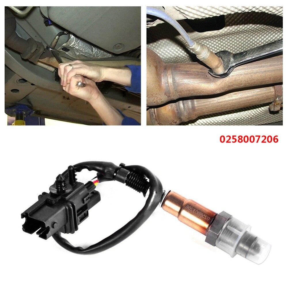 Sensor de banda ancha LSU4.2 O2 UEGO compatible con PLX AEM 30-2001 0258007206 enchufe cuadrado
