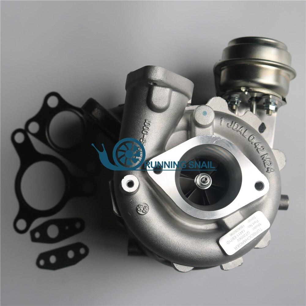 GT2056V 767720 14411-eb70c Turbocharger para Pathfinder 2.5 DI YD25 2.5L 14411EB71C 767720-5005s