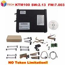 DHL Free High Quality KTM100 KTAG K-TAG V2.13 FW V7.003 ECU Chip Tool Master Version No Token Limitation KTAG V7.003 Ktag V2.13