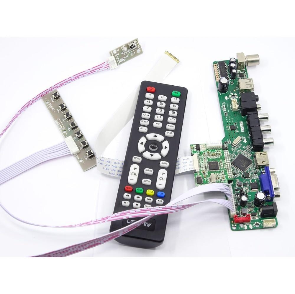 عدة ل B156HTN03.2/B156HTN03.3 30pin VGA مراقب 1920X1080 شاشة EDP LED لوحة عرض HDMI متوافق مع لوحة تحكم 15.6
