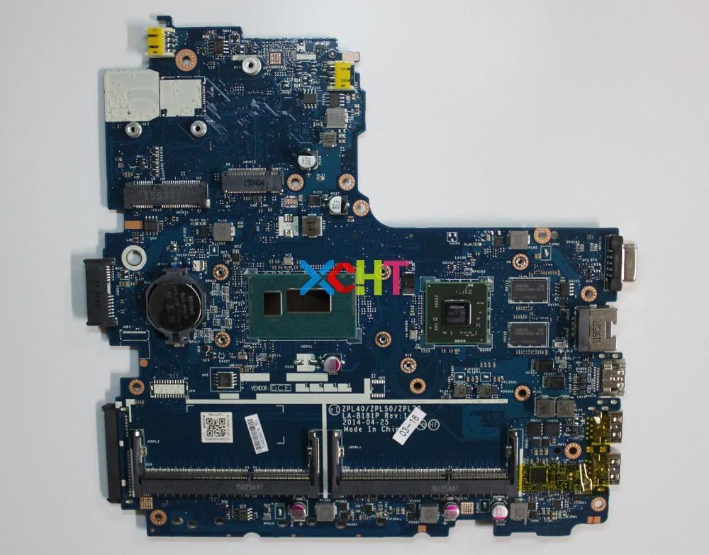 XCHT für HP ProBook 450 G2 782637-501 782637-001 ZPL40/ZPL50/ZPL70 LA-B181P i3-4005U 2 GB Vram Laptop Motherboard Getestet