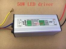 50 w led 드라이버 AC85-265V 출력 30-36 v 1500ma pf> 0.95 ip67 led 투광 조명 전원 공급 장치
