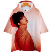 EXO Love Shot 3D Printed Hooded T-shirts Women/Men Kpop Fashion Summer Short Sleeve Tshirts 2019 Hot Sale Casual Clothes