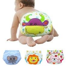 Couches réutilisables en coton lavable pour bébés   Couverture de couches lavables pour bébés enfants, napperons pour bébés, culotte de bain pour entraînement 3 tailles