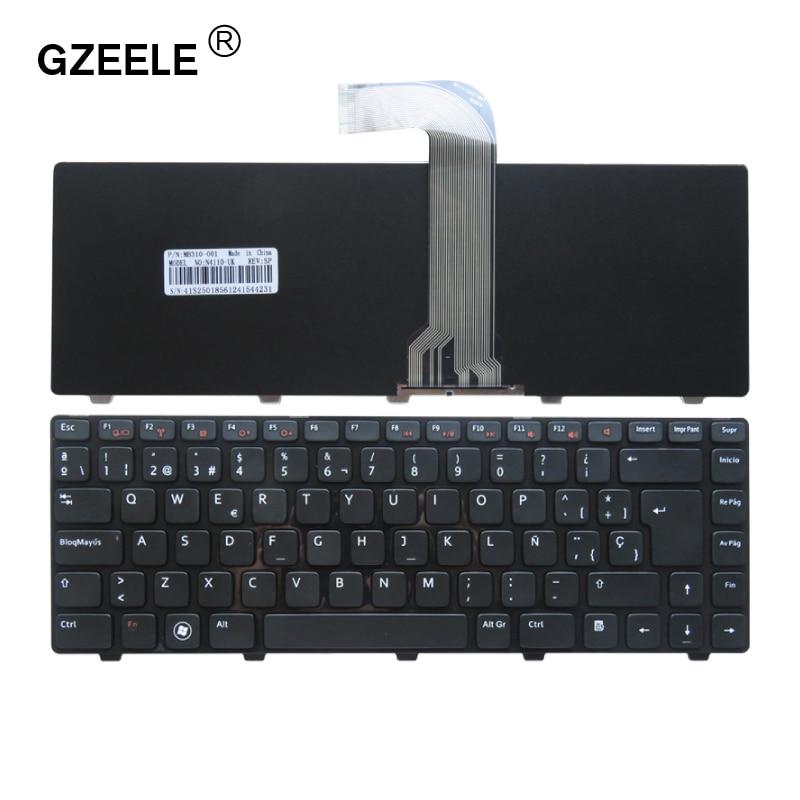 Испанская клавиатура для ноутбука DELL Vostro 3550 XPS L502 N4110 N4120 M4110 N4050 M4040 N5050 M5050 M5040 N5040 SP Клавиатура черная