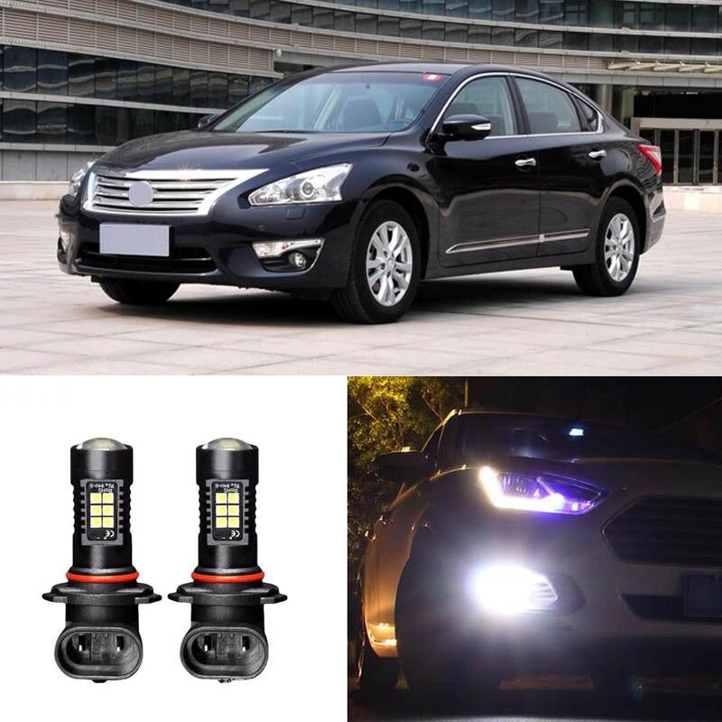 2x Canbus H11 3030 21SMD LED DRL luces antiniebla diurnas para Nissan Teana 11-14