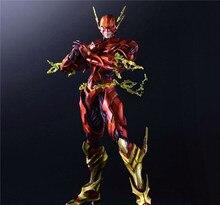 Jouer Arts Kai figurines Flash larmure Flash Ver NO 4 PVC jouets 270mm modèle de film fortement blindé Barry Allen Playarts Kai
