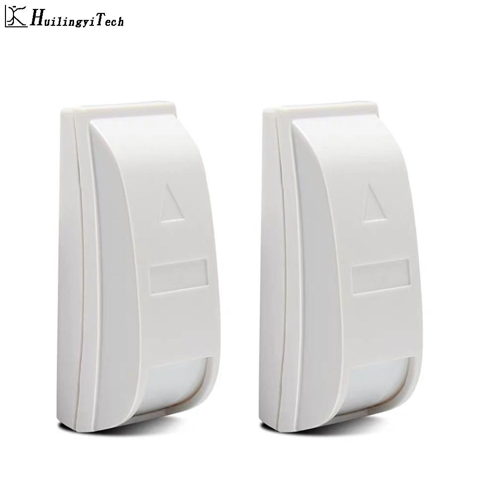 HuilingyiTech несколько Проводной Мини PIR датчик движения детектор сигнализации для домашняя система охранной сигнализации наборы