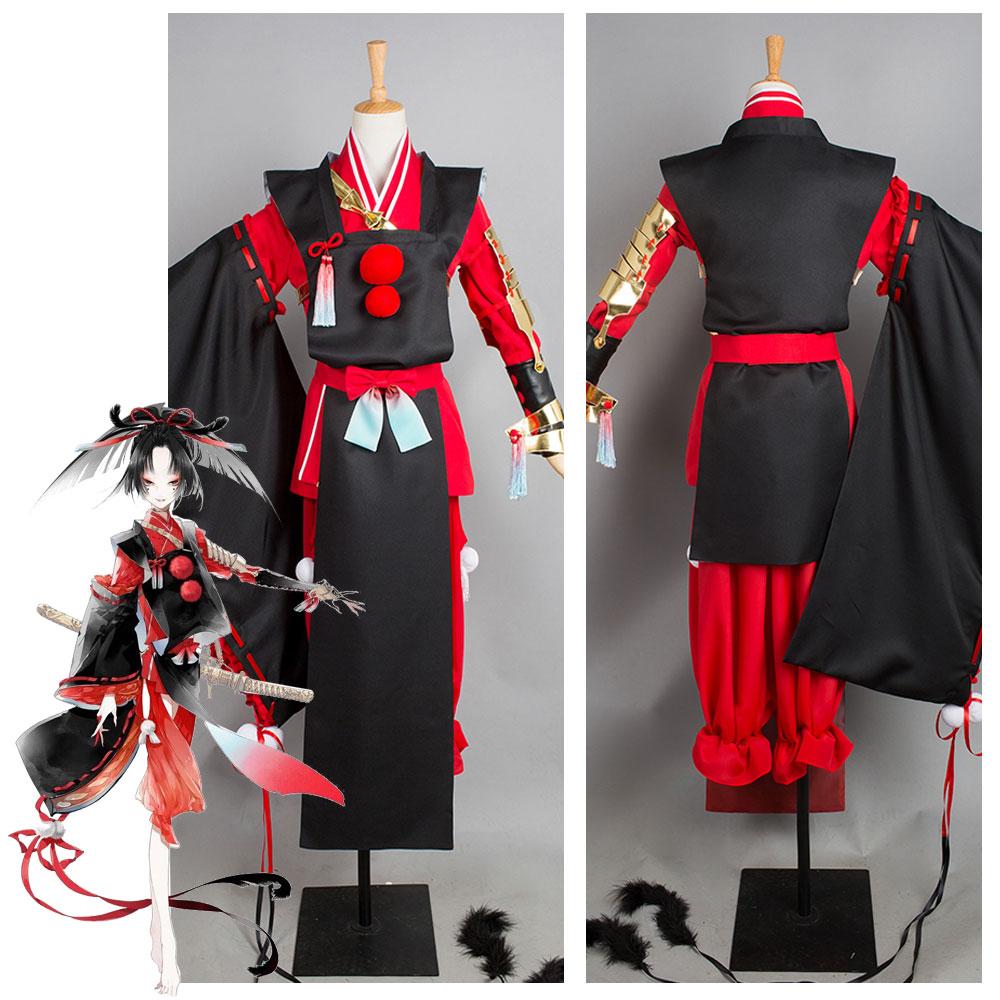 Touken Ranbu kimono de kogarasumaru Cosplay disfraz Halloween carnaval disfraces