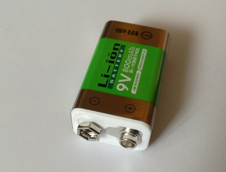 1 Uds Cncool gran oferta 800 detector de humo MICRÓFONO INALÁMBRICO mAh batería de iones de litio 9V
