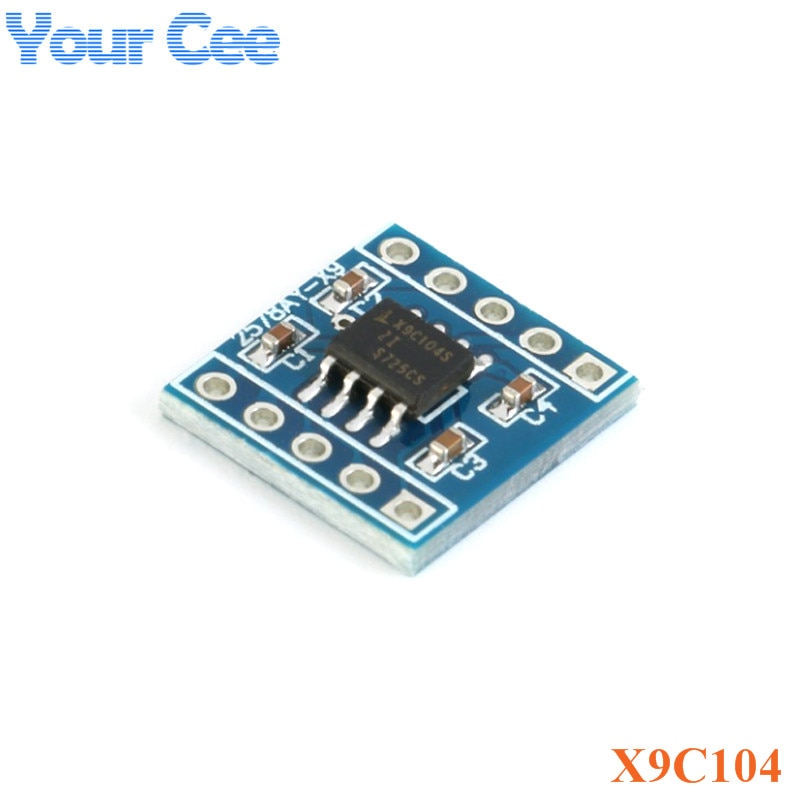 X9C104 Digital Potentiometer Module For Arduino Board Module Programmable Resistor to Adjust the Bridge Balance