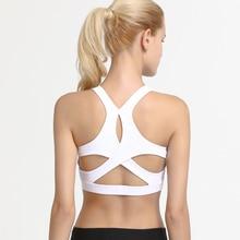 Zhangyunuo Brassiere Sport Plus Size Push Up Padded Running Sports Bra Yoga Workout Top Gym Fitness Underwear