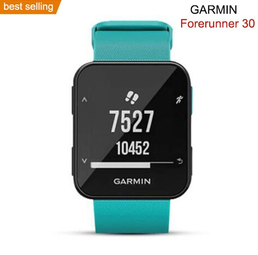 original GPS watches sports Garmin Forerunner 30 Fitness Tracker Heart Rate Monitor  waterproof digital dress watches enlarge