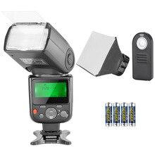 Neewer NW-670 TTL Speedlite Kit Flash pour Canon avec télécommande sans fil IR, pile AA, diffuseur pour Canon 7D Mark II, marque 5D