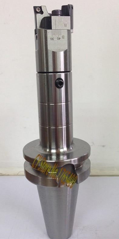 BT40-LBK3-155L-M16 Arbor RBH 32-42mm cabezal de taladrado de doble punta de alta precisión usado para agujeros profundos, para CCMT060204, herramienta de RBH32-42